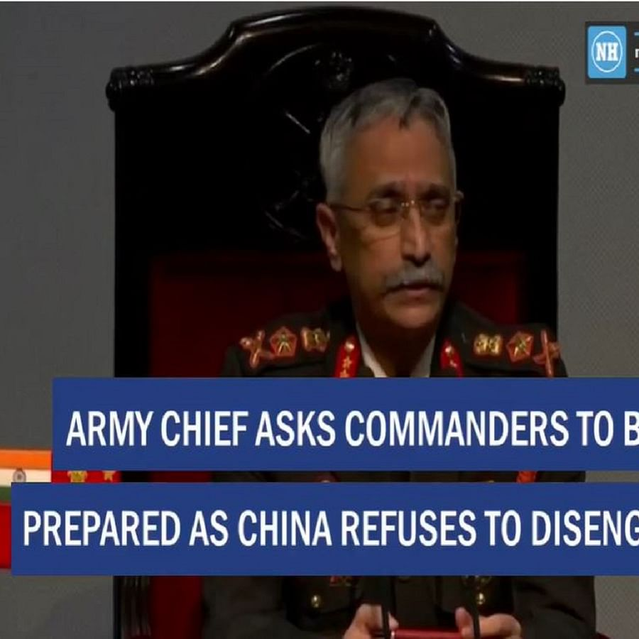 Army Chief asks commanders to be prepared as China refuses to disengage
