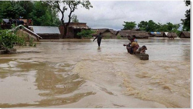 UP floods: 303 villages in 19 districts marooned; over 1 lakh families affected