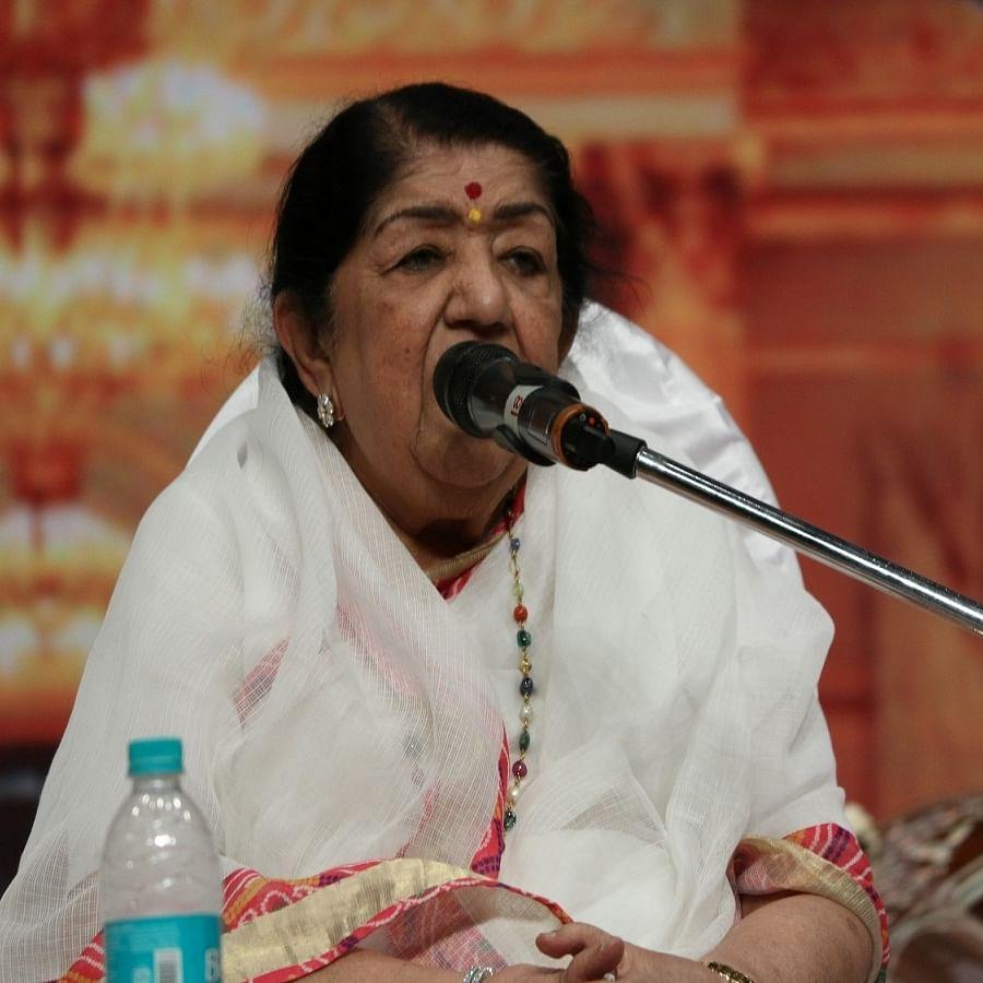 Singer Lata Mangeshkar (Photo Courtesy: IANS)
