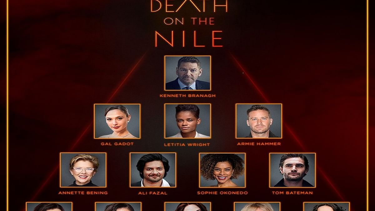 Ali reunites with cast of 'Death on the Nile' to kick off promotions, Armie Hammer shares first glimpse