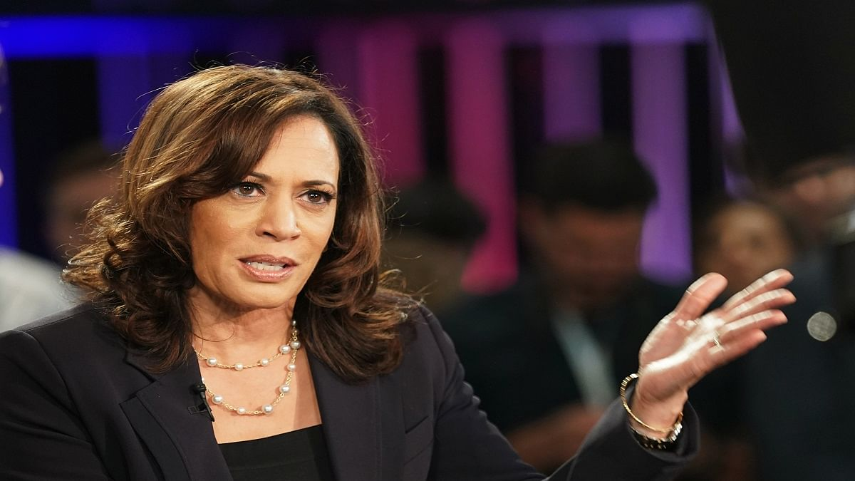 With rebuke of Trump, Harris debuts on campaign stage