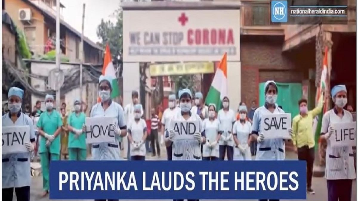 Priyanka lauds the heroes in crisis on Independence Day
