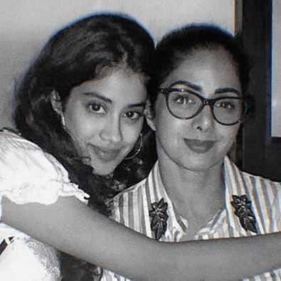 Janhvi Kapoor with mother Sridevi (Instagram)