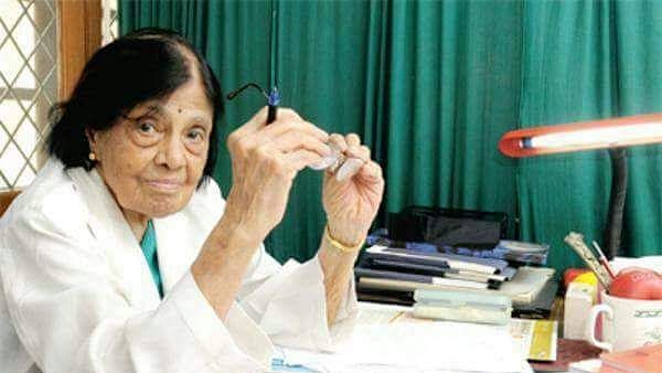 Dr Padmavati (Photo Courtesy: Twitter/@swami2005)