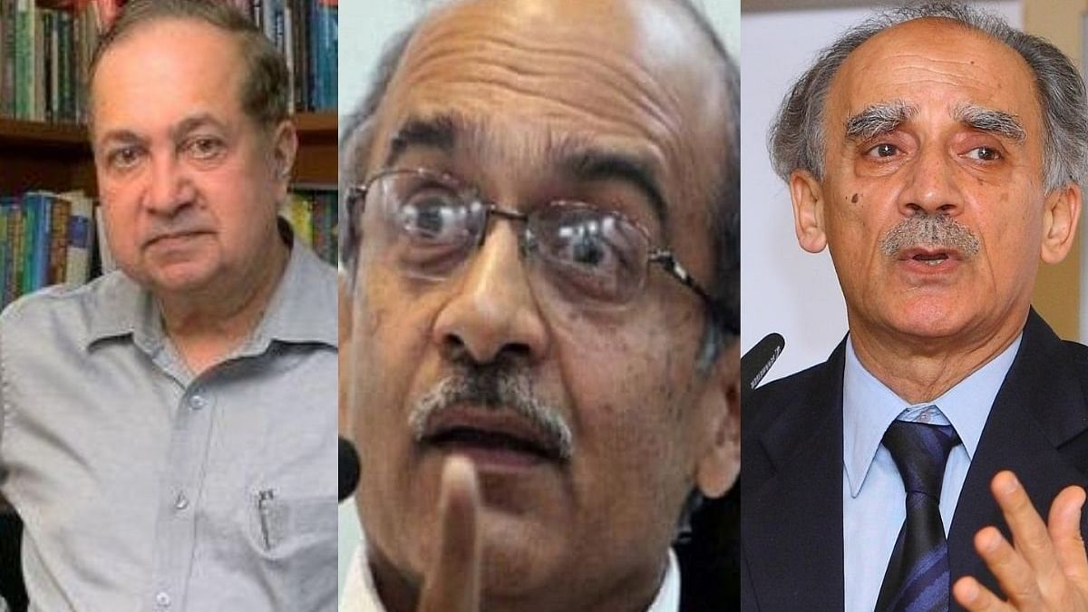 N Ram, Arun Shourie & Prashant Bhushan withdraw plea in SC against provision of Contempt of Courts Act