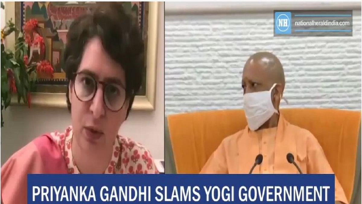 Priyanka Gandhi slams Yogi government for crime against children
