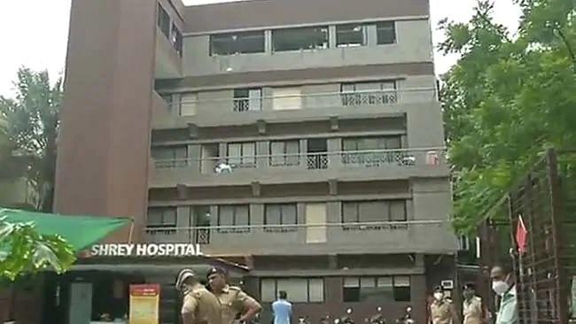 Ahmedabad COVID-19 hospital fire leaves 8 patients dead