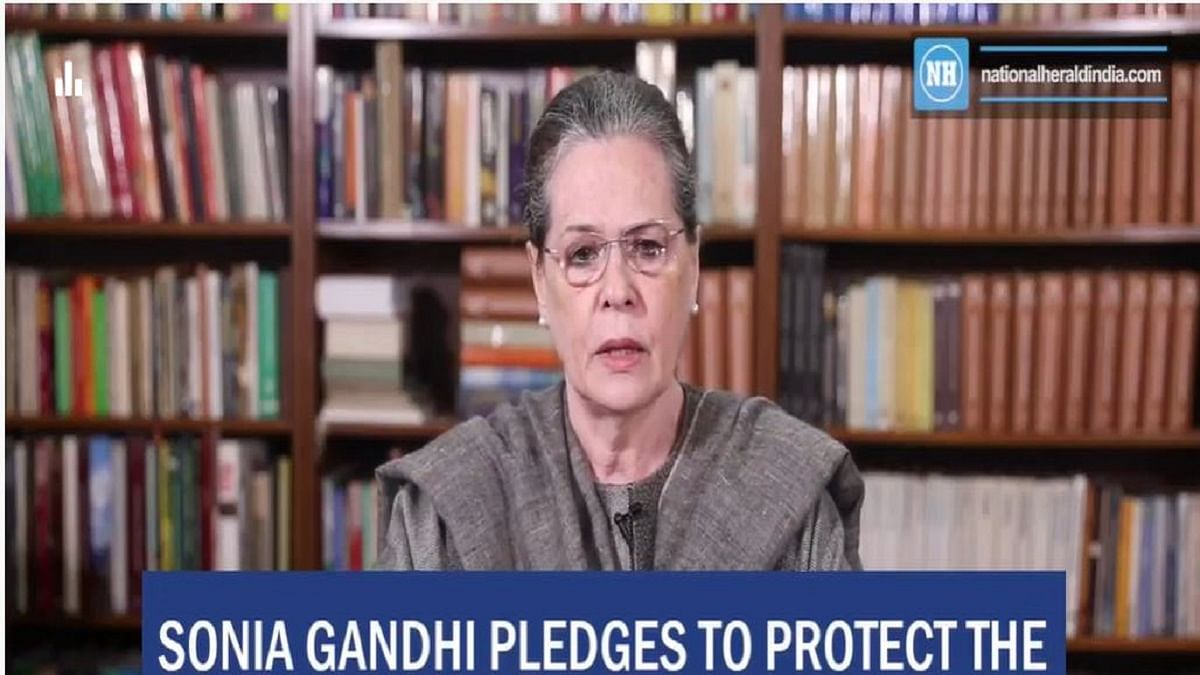 Sonia Gandhi pledges to protect the democratic Independence of India