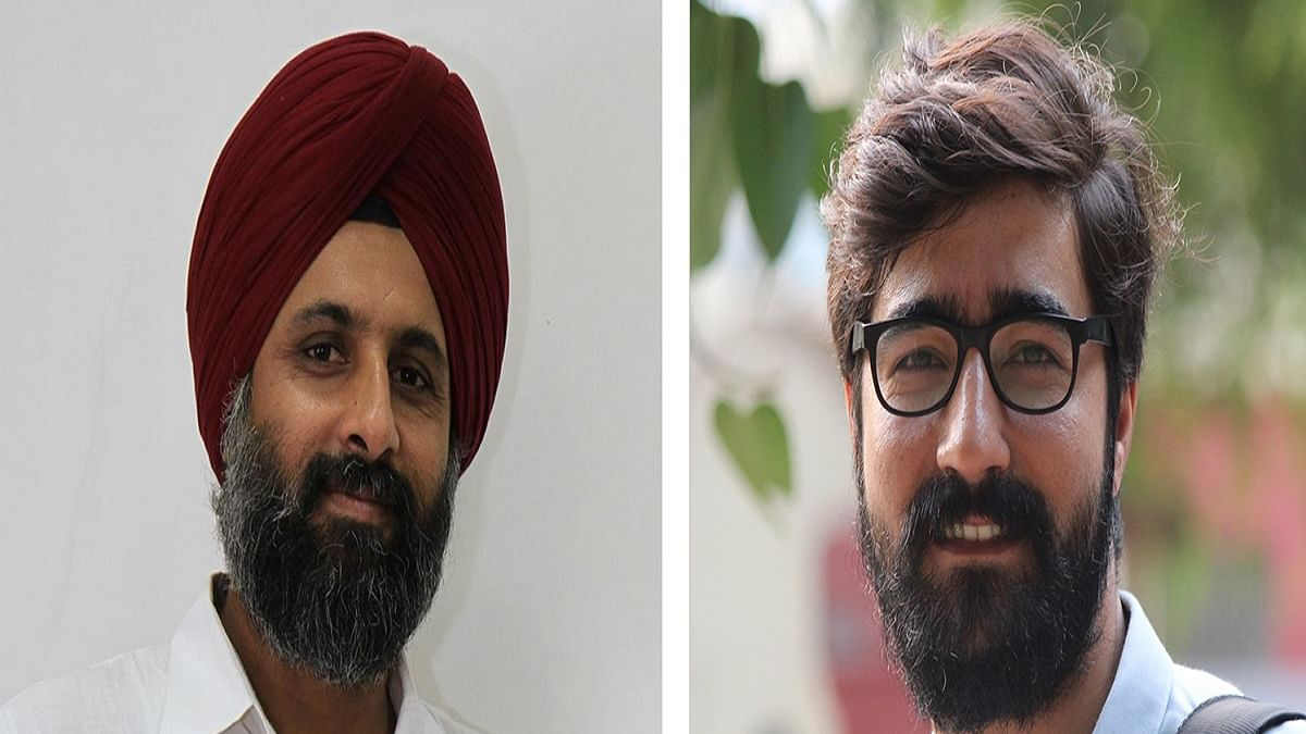 Prabhjit Singh and Shahid Tantray (Photo Courtesy: Twitter/@thecaravanindia)