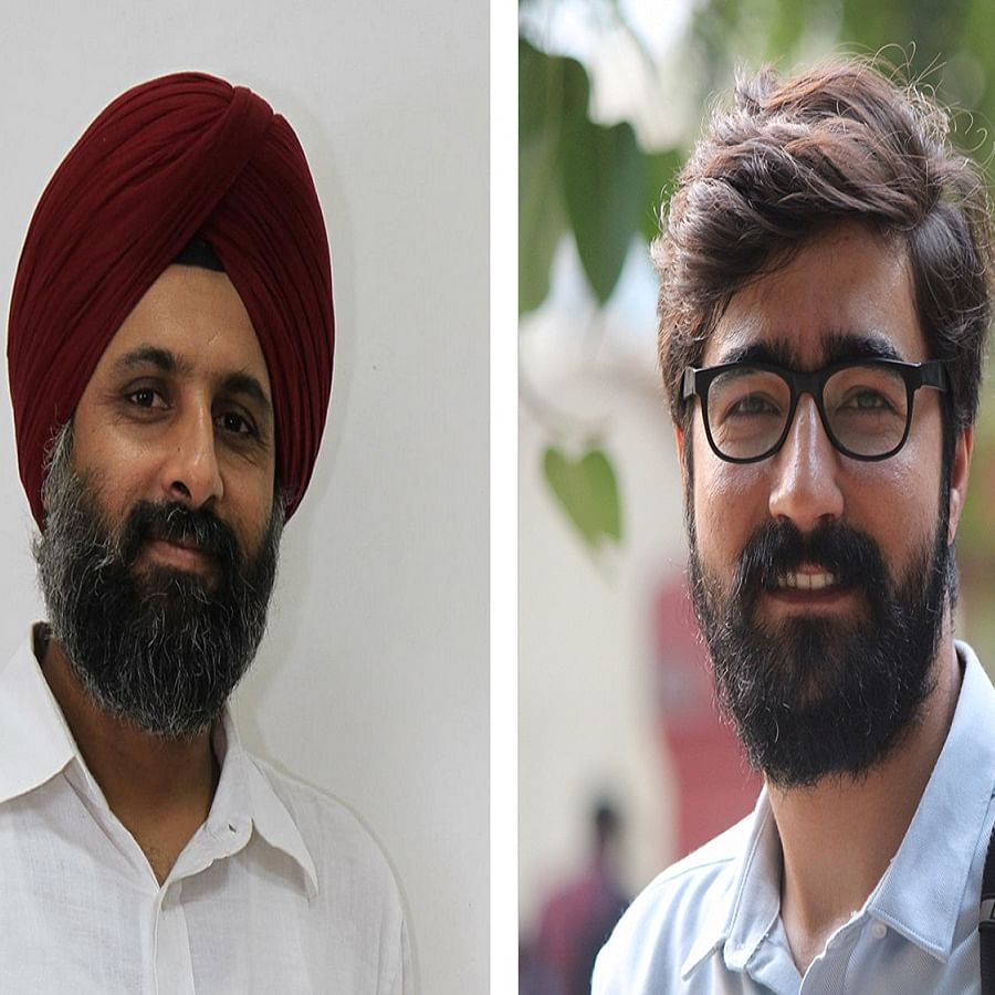 Prabhjit Singh and Shahid Tantray (Photo Courtesy: Twitter/@thecaravanindia)