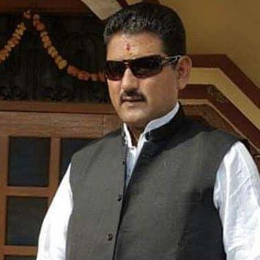 Mahesh Negi, BJP MLA from Dwarahat (Photo courtesy: social media)