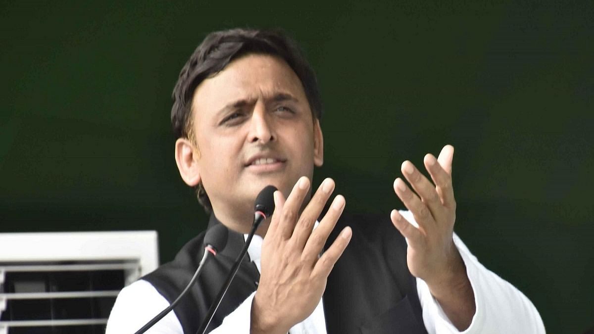 BJP doing politics in name of Lord Ram,  doesn't  care about law and order in UP: Akhilesh Yadav