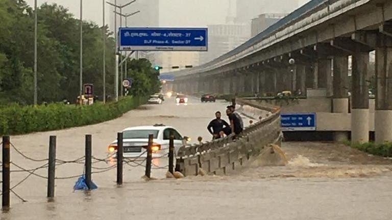 Incessant rains lash Delhi-NCR, many areas under waist-deep water, more rain very likely