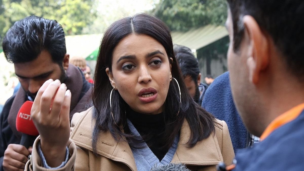 Plea seeks AG consent to initiate contempt action against Swara Bhaskar