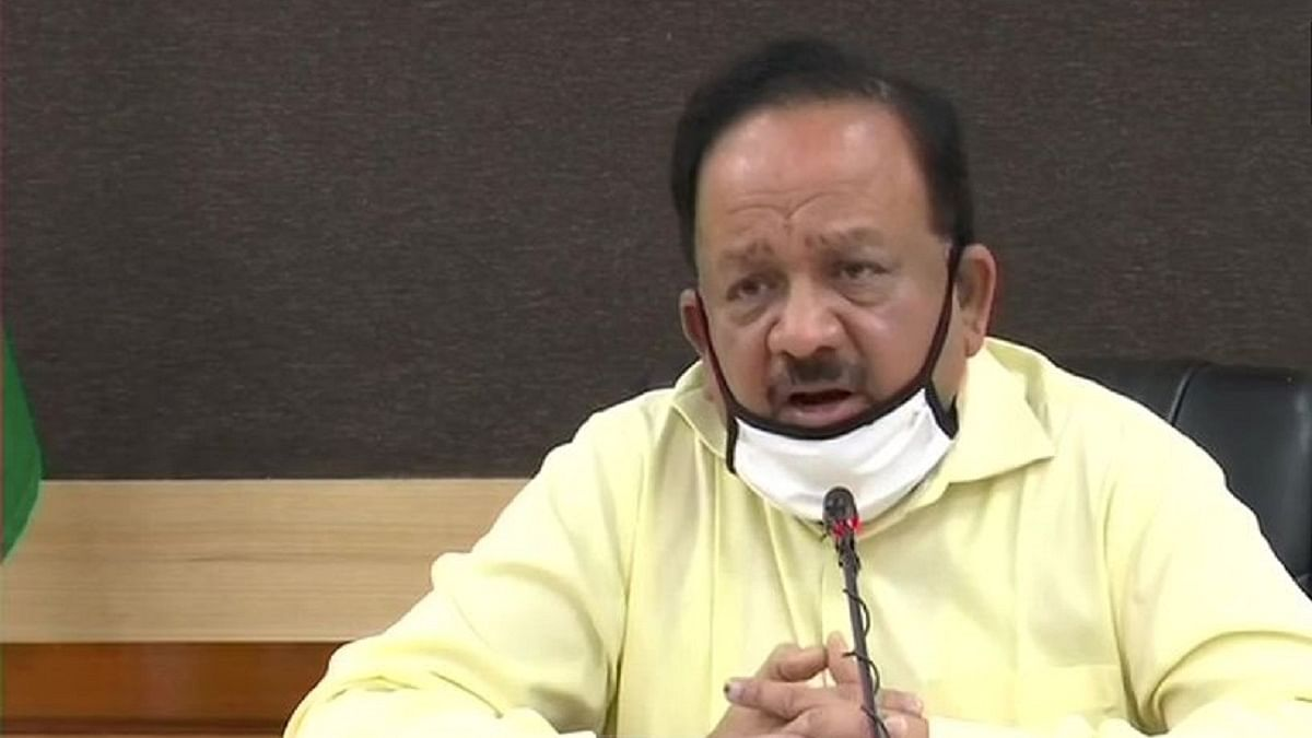 'Irresponsible behaviour' behind COVID spike: Harsh Vardhan