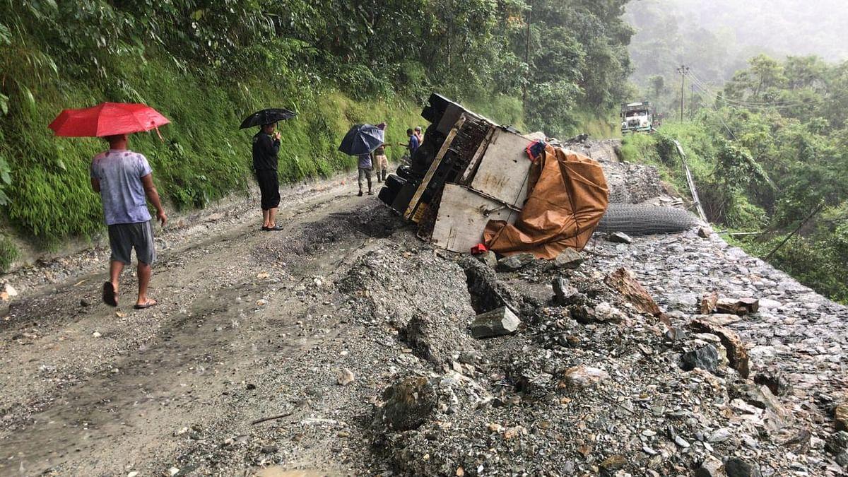 Sikkim cut off after major landslides due to heavy rain