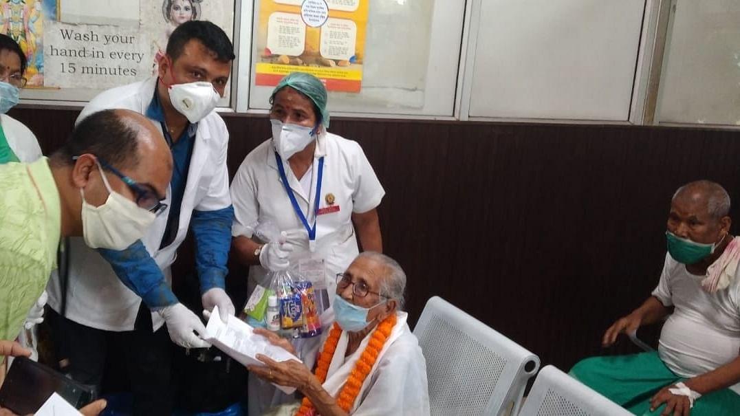 100-year-old Assam woman beats COVID-19