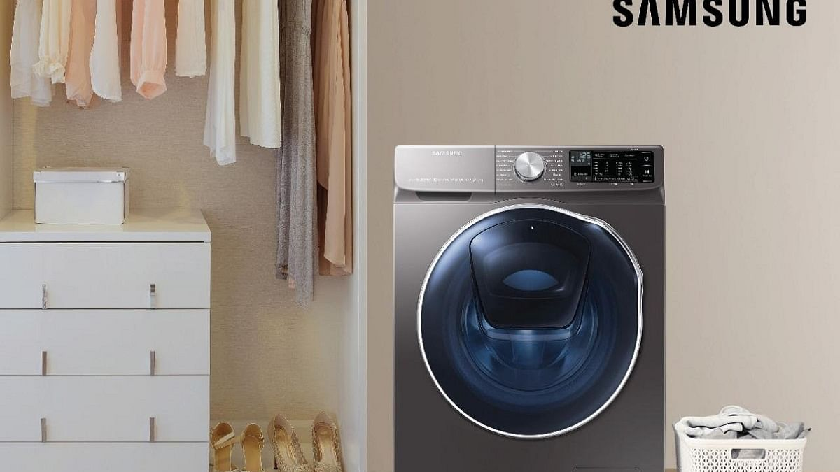 Samsung's AI-driven washing machines with Q-Rator tech in India
