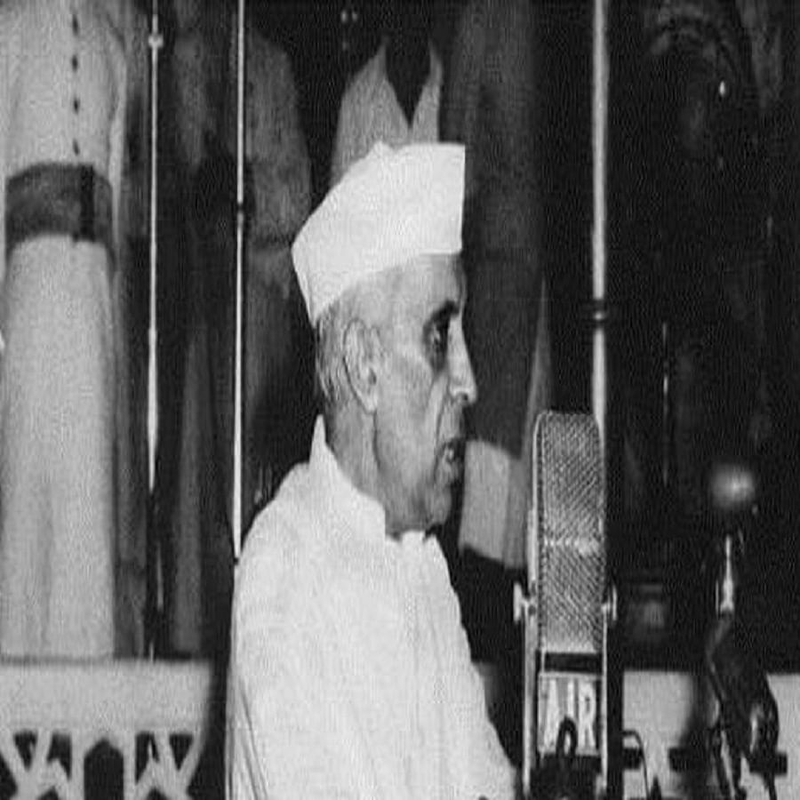 """India's first Prime Minister Jawaharlal Nehru <a href=""""https://api.whatsapp.com/send?text=https%3A%2F%2Fwww.nationalheraldindia.com%2Fblog%2Fnehrus-word-the-congress-party""""></a>"""