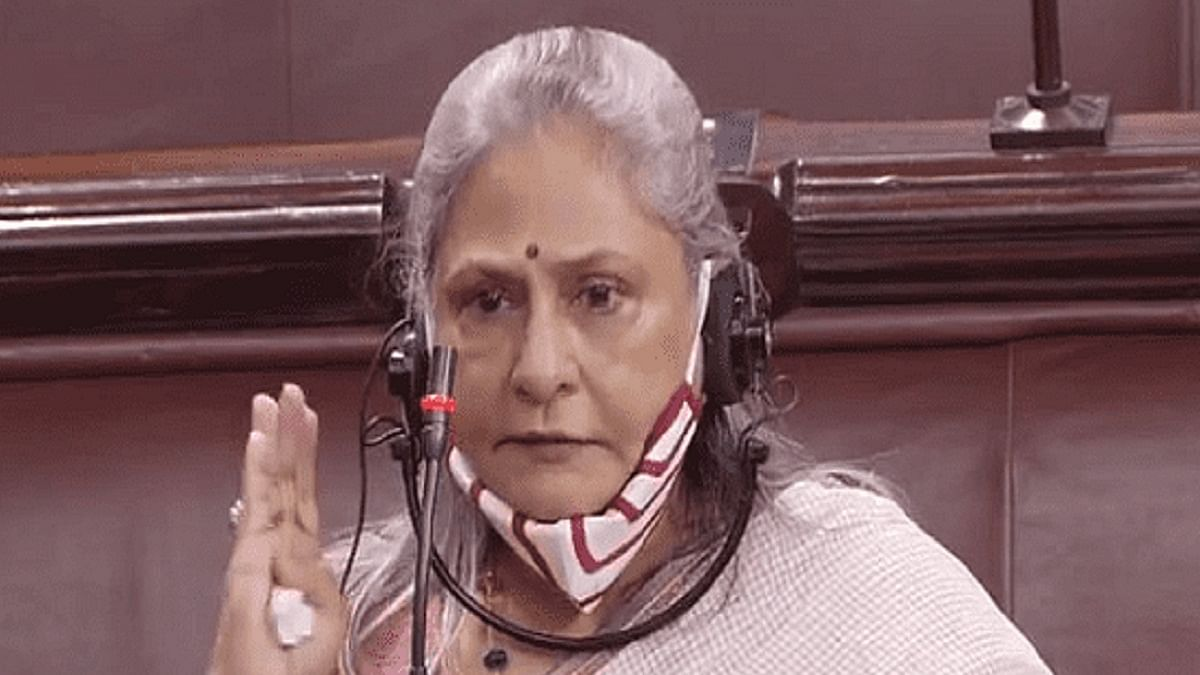 Rajya Sabha MP, Jaya Bachchan (Photo Courtesy: Social Meida)
