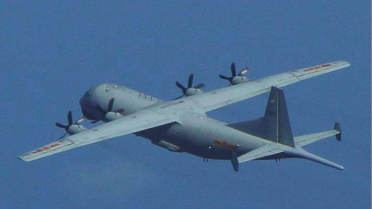 China flies 18 warplanes near Taiwan during US envoy's visit