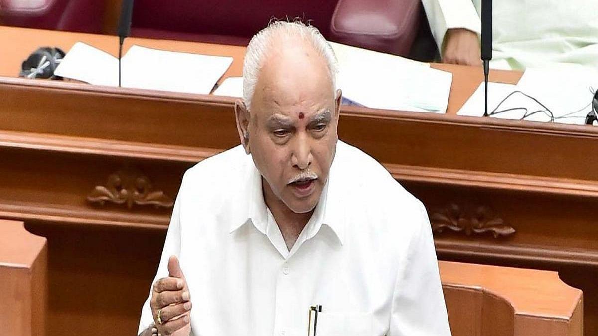 Karnataka Chief Minister YS Yeddyurappa (Photo Courtesy: IANS)