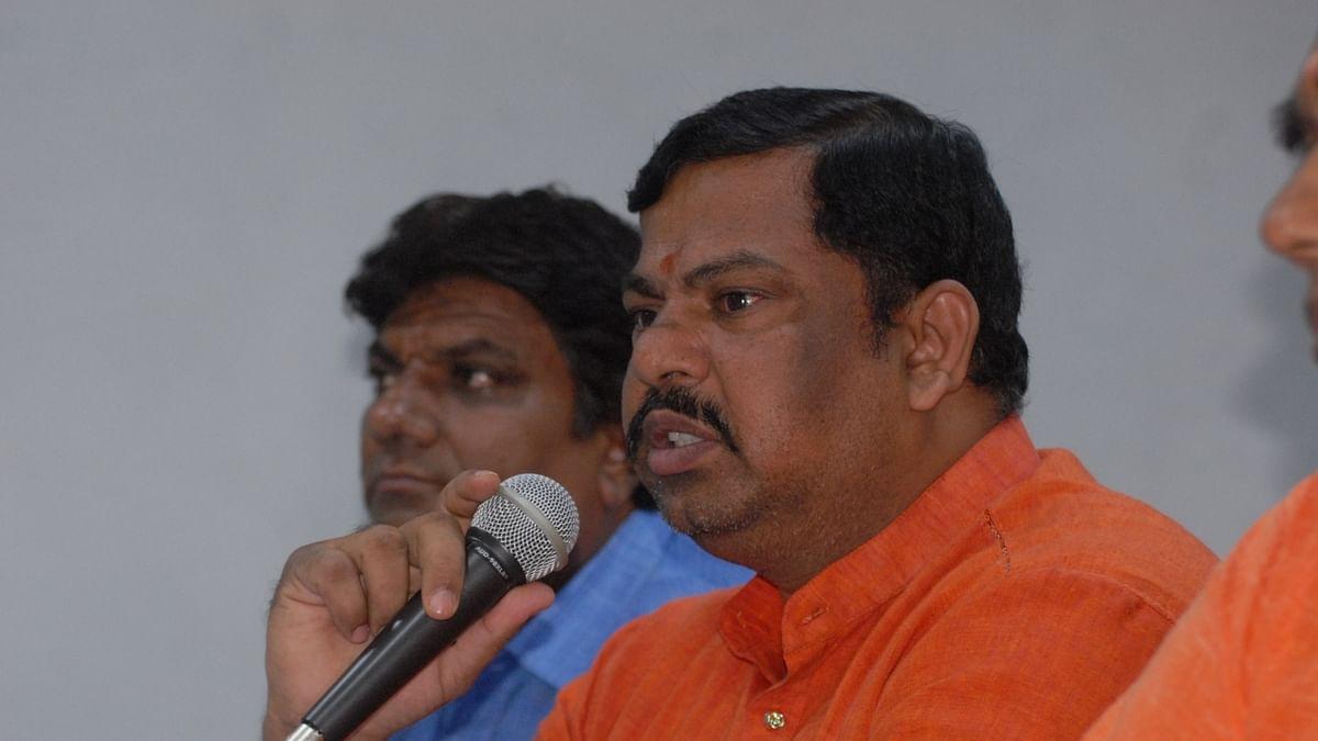 BJP MLA T Raja Singh (IANS Photo)