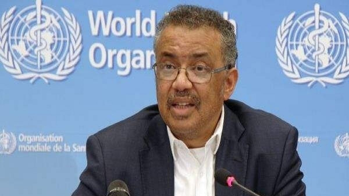 WHO chief Tedros Adhanom Ghebreyesus (Photo Courtesy: IANS)