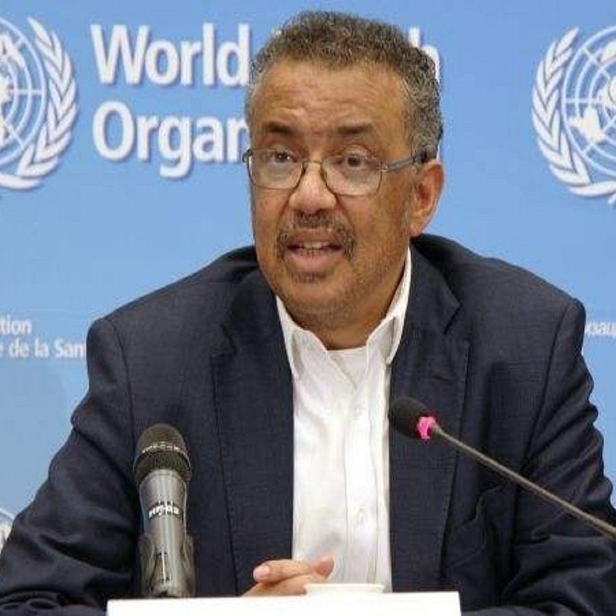 WHO chief Tedros Adhanom Ghebreyesus (File photo)