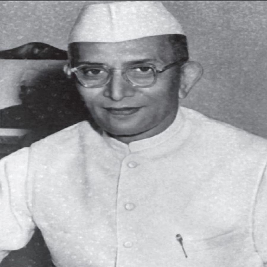 Former Indian Prime Minister Morarji Desai