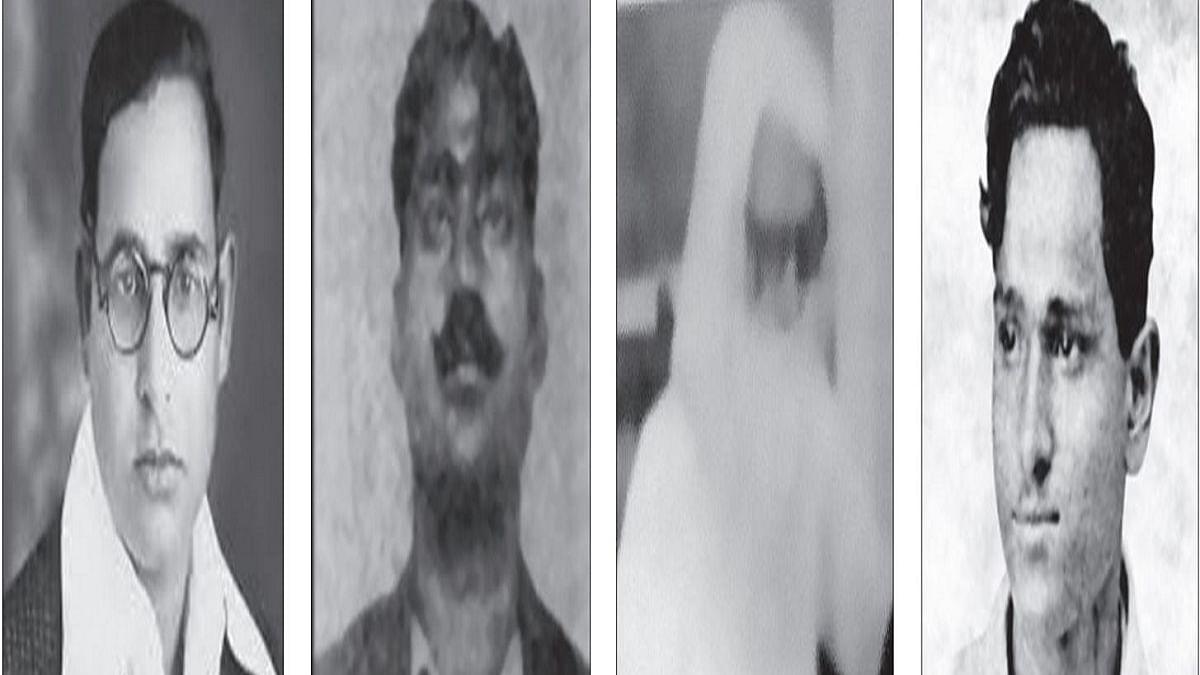 Gaya Prasad, Mahabir Singh, Mahabir Singh's brother Balvir and Batukeshwar Dutt