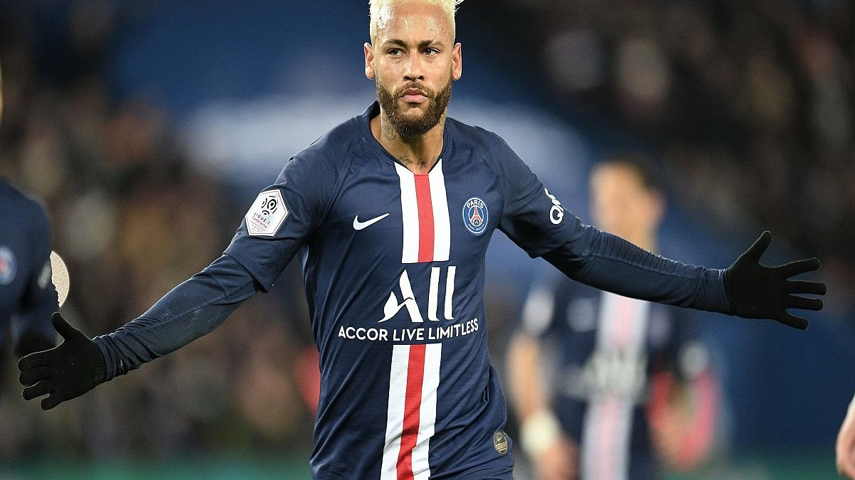 Paris Saint-Germain (PSG) striker Neymar (Photo Courtesy:  IANS)