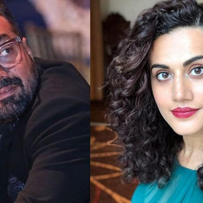 Tapsee Pannu defends Anurag Kashyap against sexual harassment charge