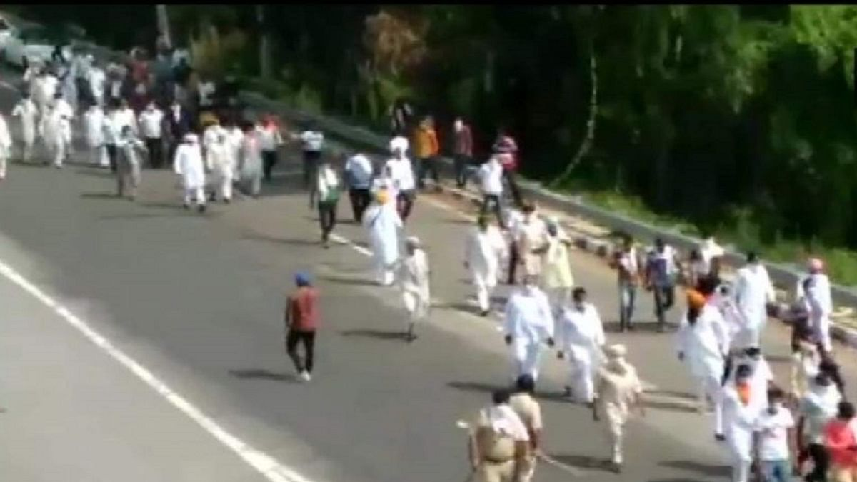 NDA's ordinances drag Haryana farmers to roads, conflicting voices among BJP-JJP leaders emerge