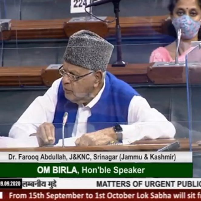 LIVE News Updates: No progress is taking place in Jammu & Kashmir, says  Farooq Abdullah in Lok Sabha