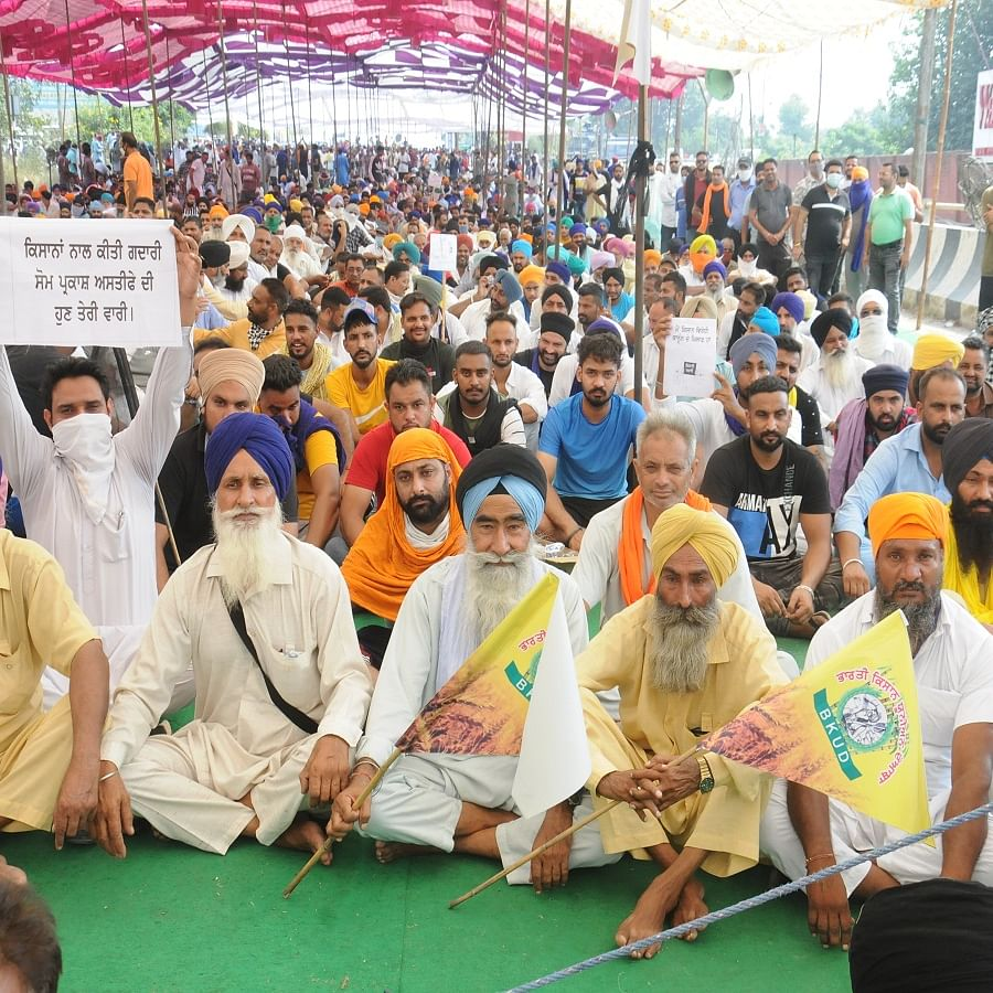 Bharat Bandh: Massive protests against farm bills throw life out of gear across Punjab and Haryana