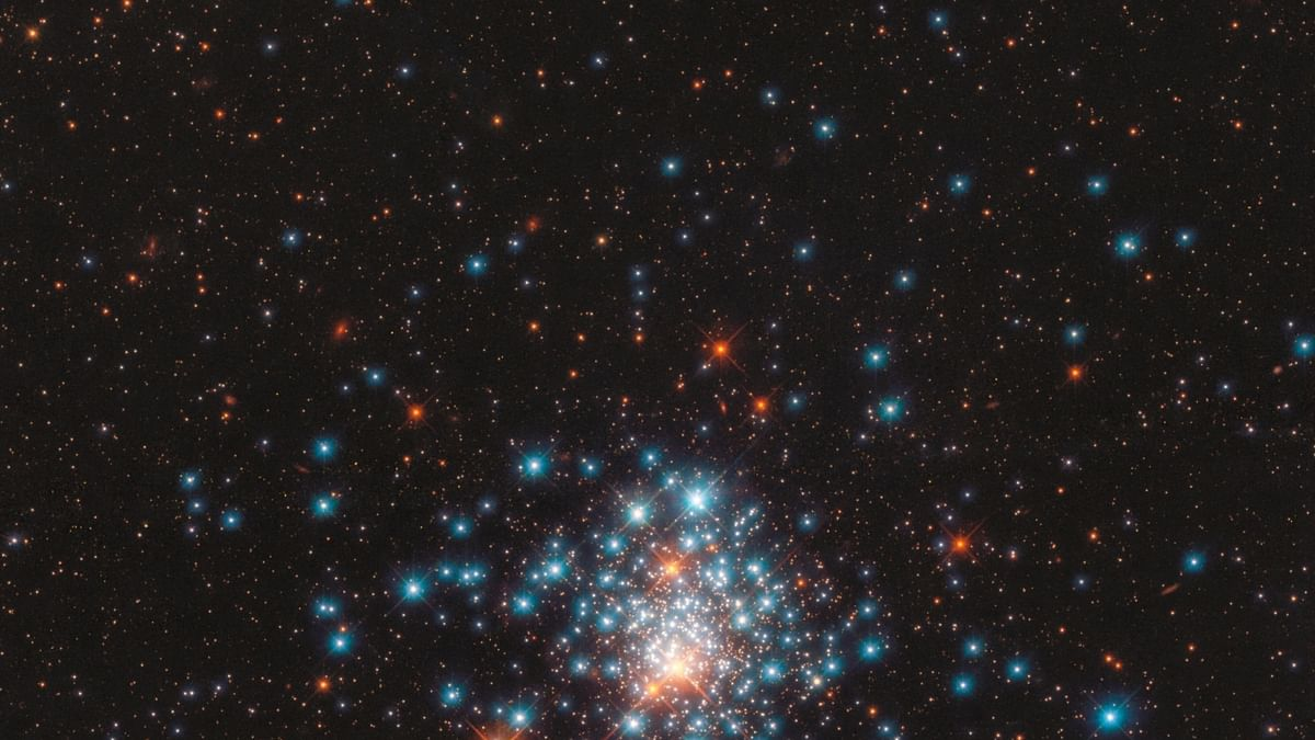 New Hubble image shows colourful stars packed close together