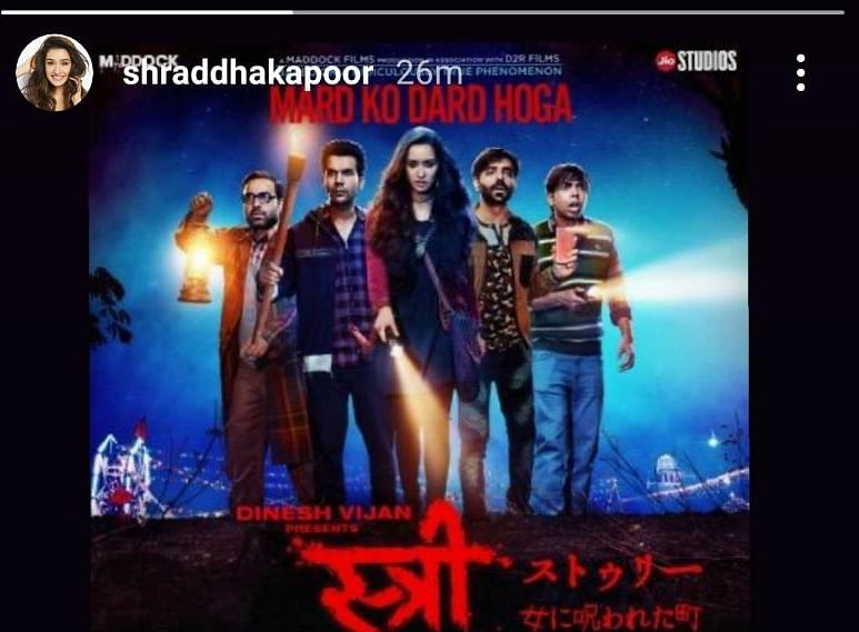 Shraddha Kapoor starrer 'Stree'  all set to release in Japan