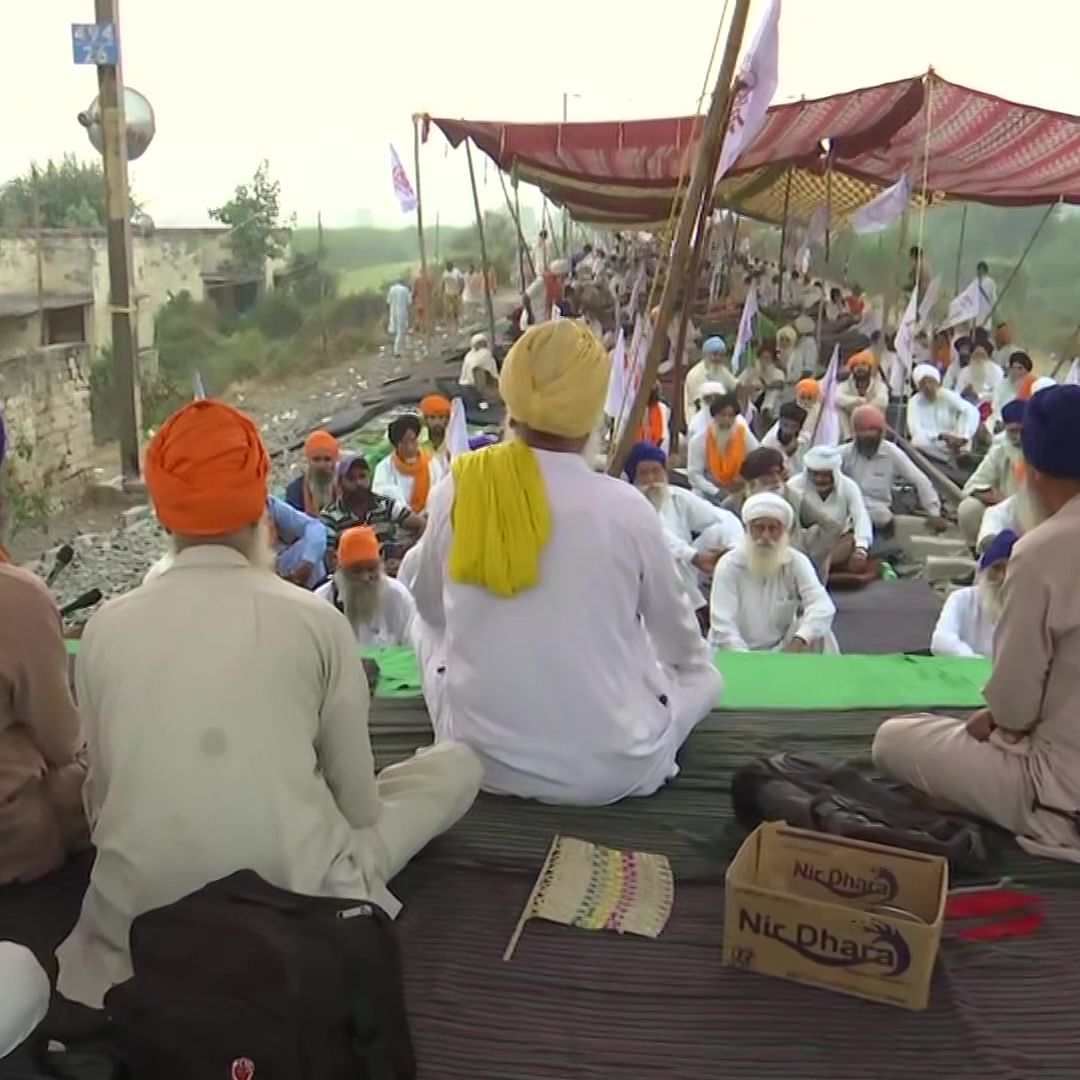 LIVE News Updates: Farmers continue their 'rail roko' agitation against FarmBills in Amritsar