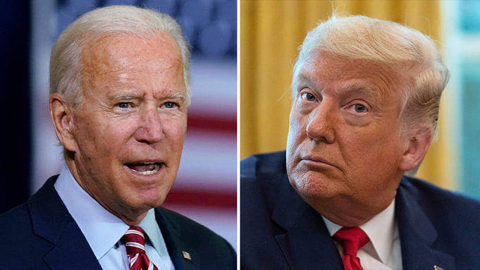 Angry opening: Trump, Biden lash, interrupt each other