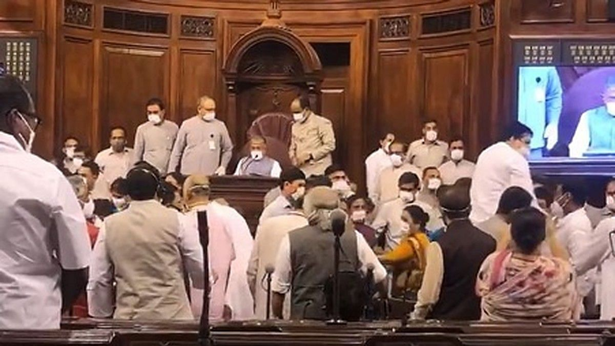 In the Rajya Sabha on Sunday who were the 'Badshahs'? The Government of course