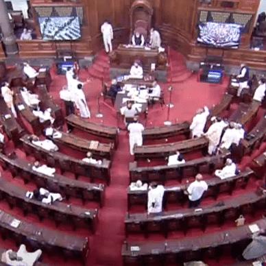 LIVE News Updates: Rajya Sabha adjourned till 2 pm amid Opposition protests; Lok Sabha till 11.30 am