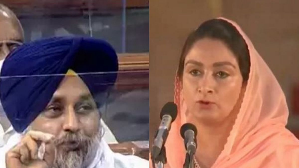 Harsimrat Kaur's resignation forced by compulsion and convenience