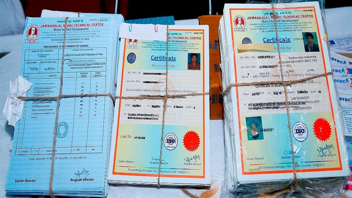 Andhra's Ongole police bust nationwide fake certificate racket