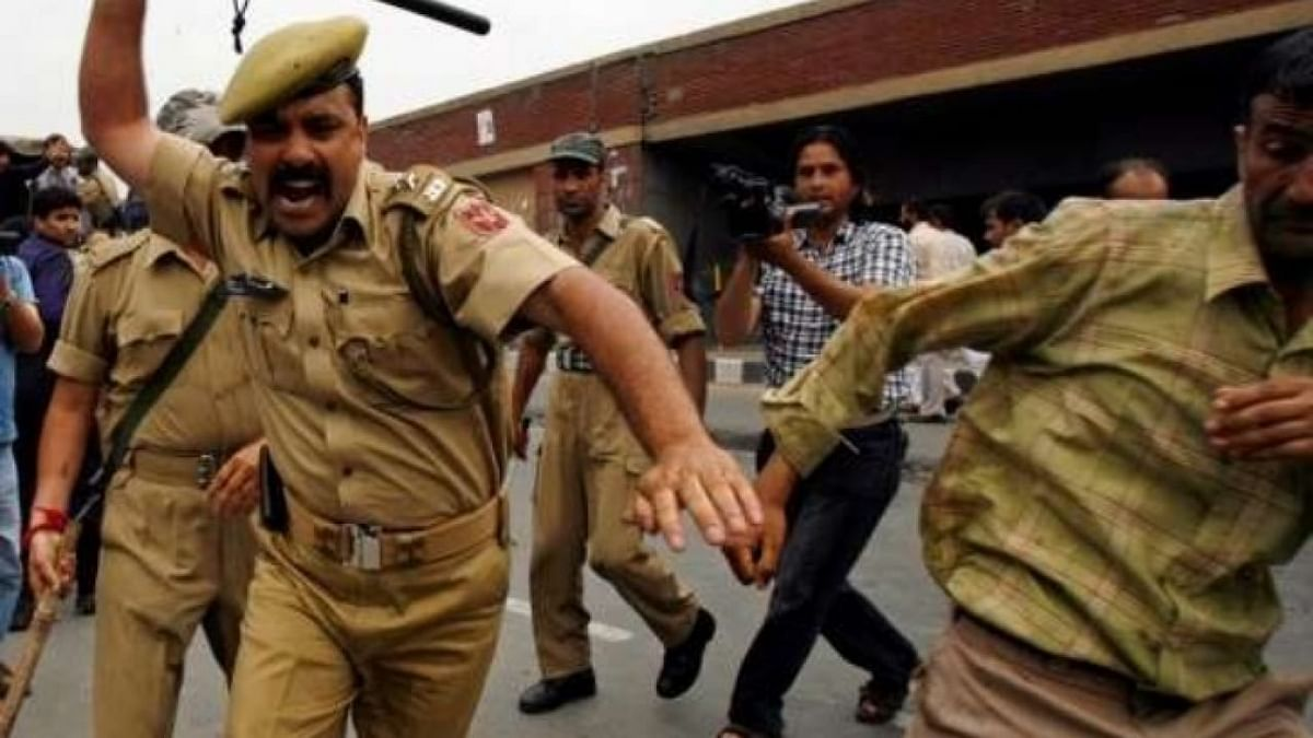 Is there any doubt that India is now a police state? Koi Shaq?