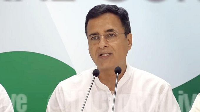 Congress spokesperson Randeep Singh Surjewala (Photo Courtesy: Social Media)