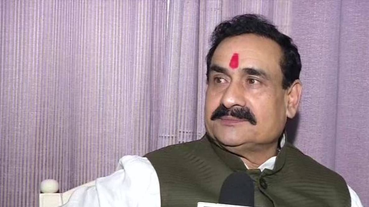 I never wear a face mask, says MP home minister Narottam Mishra