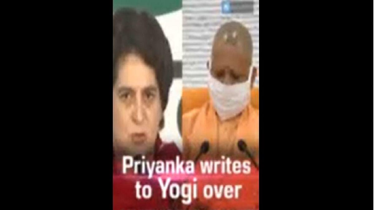 Priyanka writes to Yogi over unemployment