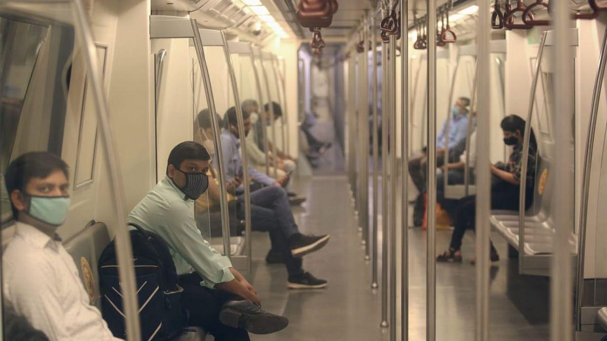 92 fined for violating COVID norms aboard Delhi Metro