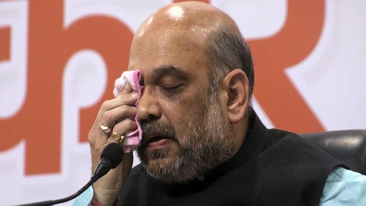 Union Home Minister Amit Shah (Photo Courtesy: IANS)